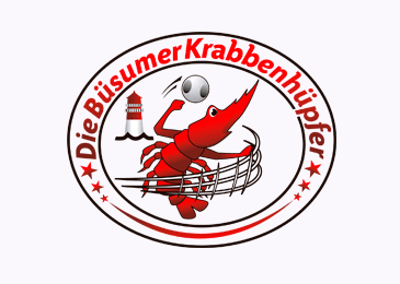 Logo Design Buesumer Krabbenhuepfer