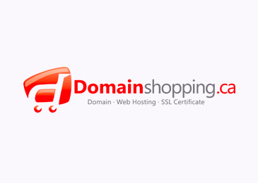 Logo Design Domain Shopping
