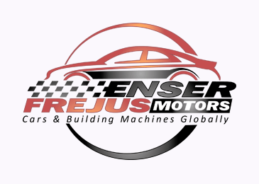 Logo Design Enser Frejus Motors Cars Building Machines