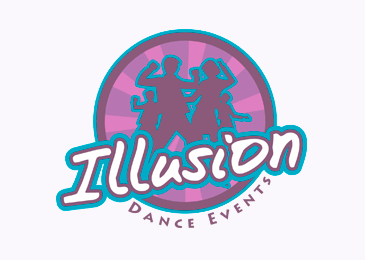 Logo Design Illusion Dance Events