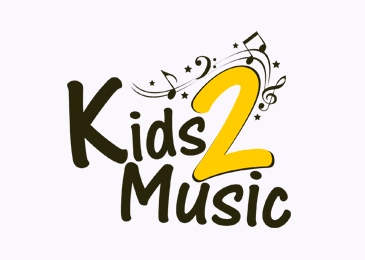 Logo Design Kids 2 Music
