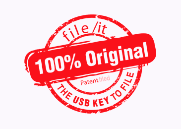Logo Design Original Usb Key Patent Filed