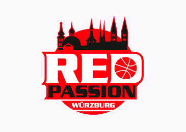 Logo Design Red Passion Wuerzburg Basketball
