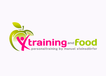 Logo Design Training And Food Personaltraining Sport Fitness