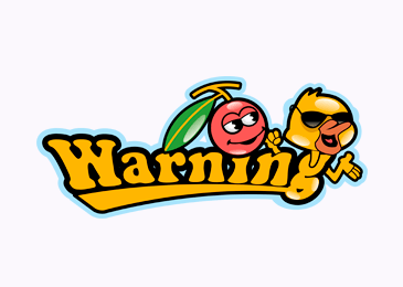 Logo Design Warning